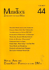 MusikTexte 44 – April 1992